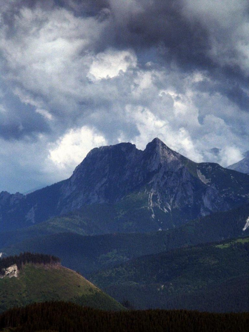 Giewont z Furkaski #góry #mountain #Tatry #Zachodnie #Giewont #Furkaska