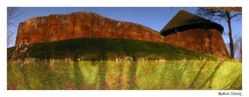 Zamek Międzyrzecki inaczej ;) #Międzyrzecz #zamek #ruina #Obra #bunkry