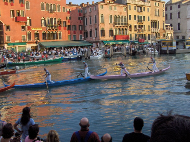 Regata Storica - Wenecja #Wenecja #Włochy #Regaty