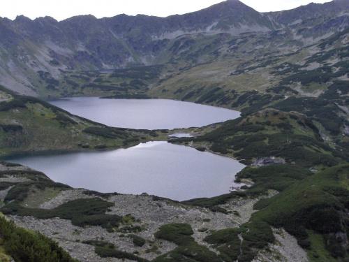 Dolina Pięciu Stawów Polskich ze szlaku przez Świstówkę Roztocką #Tatry